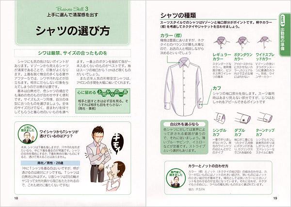 インタビュー記事で服装が与える印象がわかる