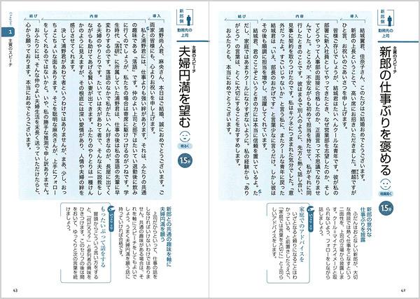 1ページに1文例の豊富な実例