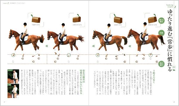 馬の「歩様」から「図形運動」までがよくわかる
