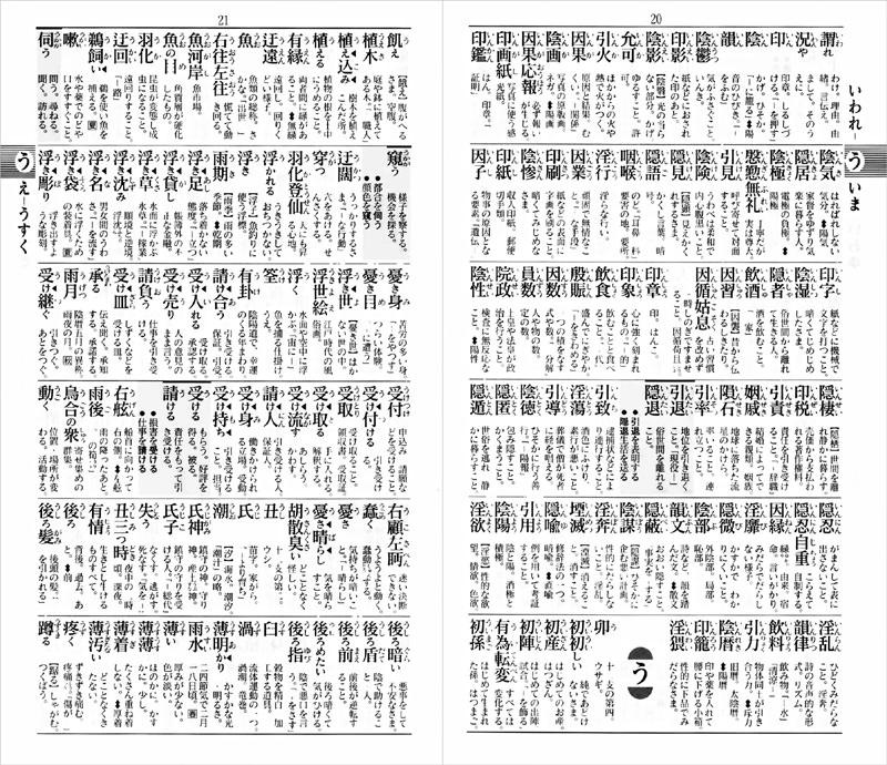 実用国語辞典 ポケット判 (赤)...