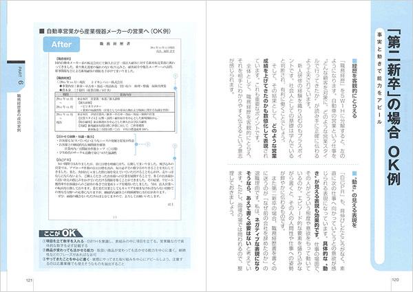ケース別OK例・NG例で通る職務経歴書が書ける!
