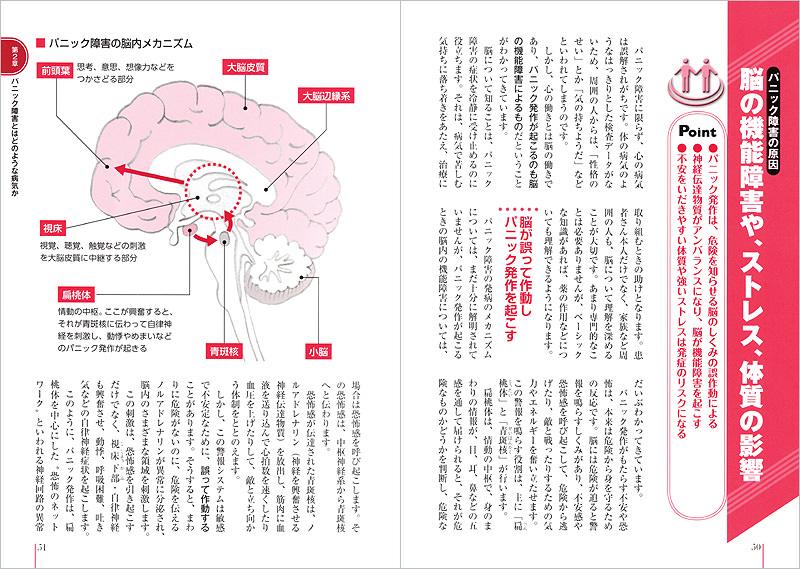 患者のための最新医学 パニック障害 正しい知識とケア|高橋書店