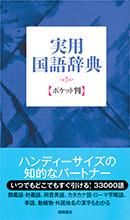 実用国語辞典 ポケット判 (青)