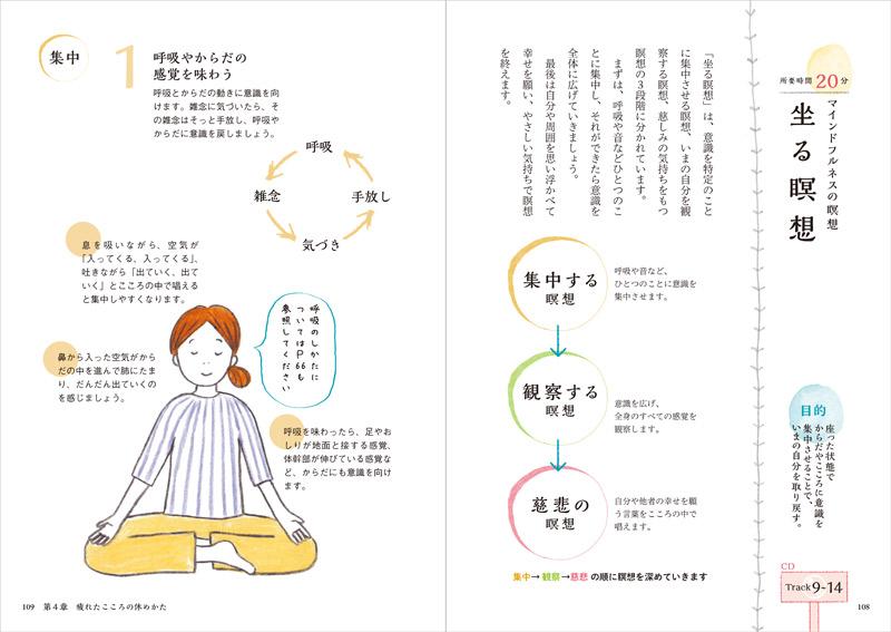 こころを休めるマインドフルネスの瞑想